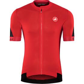 Castelli Volata 2 Kortærmet cykeltrøje Herrer rød/sort